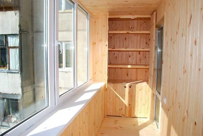 Отделка балконов и утепление лоджии