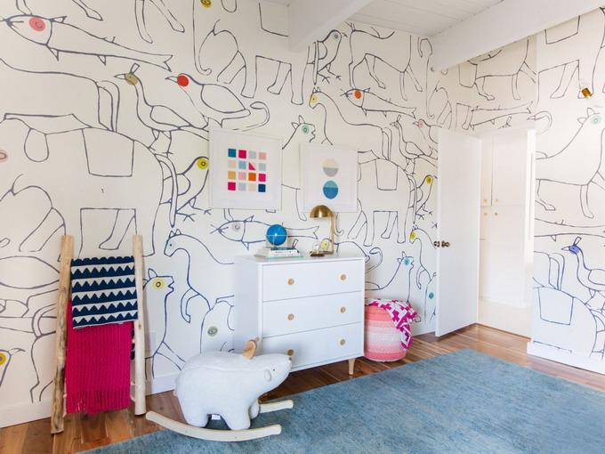Тур по очаровательной детской для малыша от Эмили Хендерсон + видео