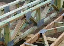 Балки перекрытия деревянные