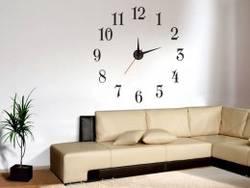 Настенные часы - идеальный вариант для улучшения интерьера
