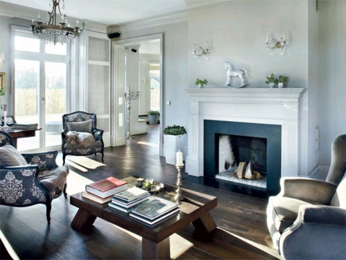 Английский стиль гостиной: классика уюта в фото