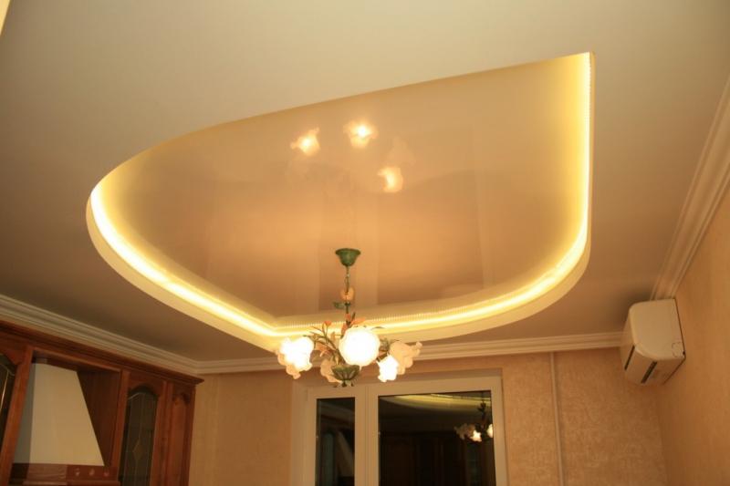 Диодная подсветка потолка своими руками (фото) в фото