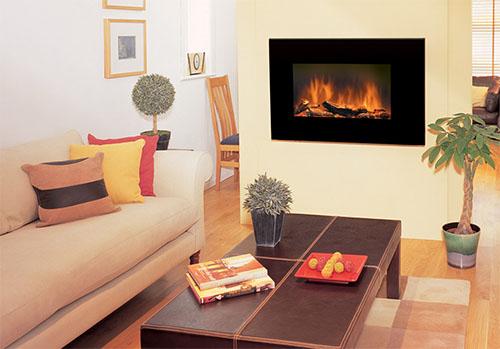 Электрокамины: эффект настоящего огня и тепло в вашем доме в фото