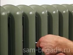 Как покрасить батарею отопления в фото
