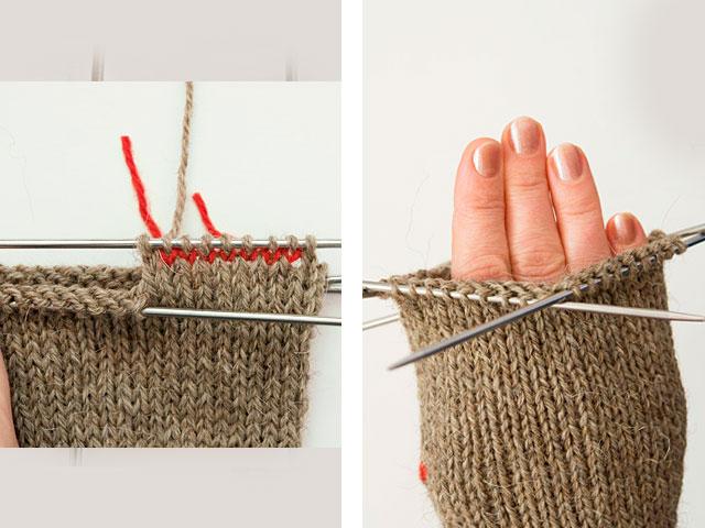 Как связать спицами женские варежки: схемы с описанием в фото
