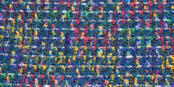 Меланж текстиль – виды и особенности ткани в фото