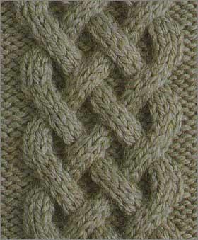 Вязание косы спицами схема видео фото 456