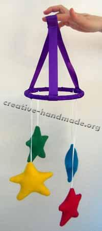 Подвесная hand-made игрушка в фото
