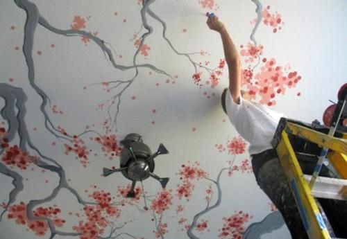 Потолок под покраску своими руками: подготовка к работе, пошаговая инструкция в фото