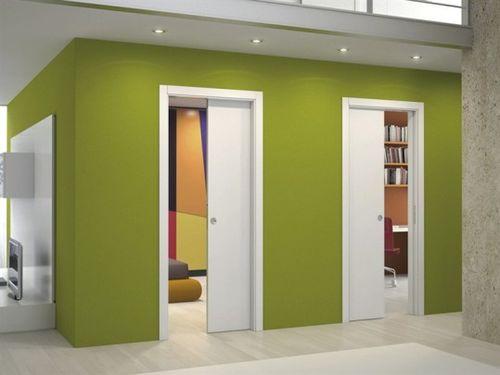 Раздвижные двери в ванную и туалет: советы по выбору в фото