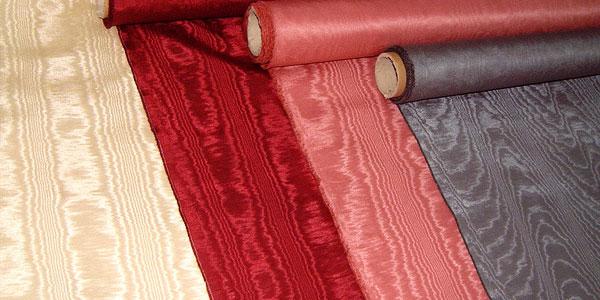 Ткань муар — разновидности, свойства, уход за одеждой в фото