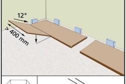 Укладка ламината на паркетный пол: инструменты, материалы, порядок работ в фото