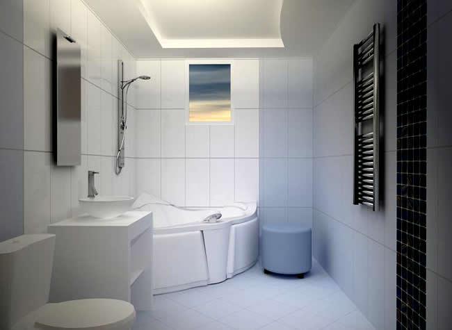 Уютные потолки из гипсокартона в ванной комнате своими руками в фото