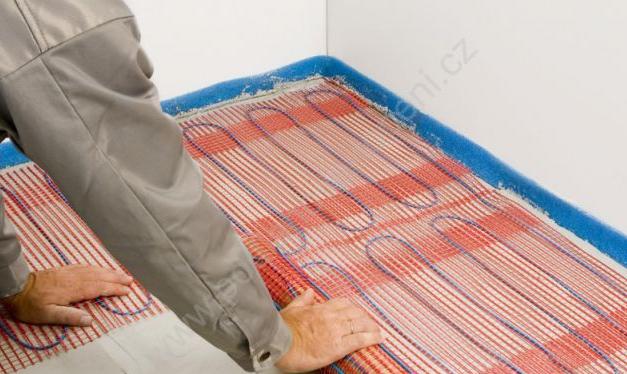 Выбор и монтаж теплого электрического пола под плитку в фото