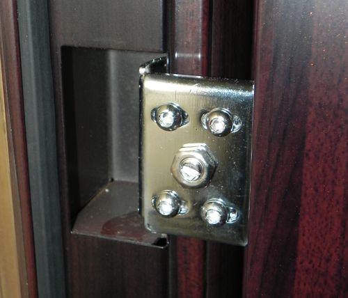 Все про петли для металлических дверей в фото