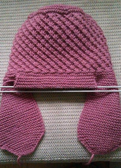 Женская шапка своими руками спицами с фото и видео в фото