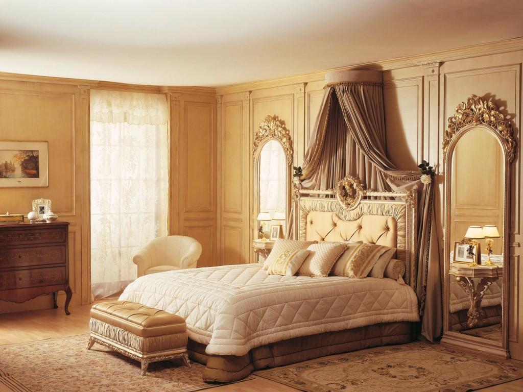 фото Спальня в классическом стиле