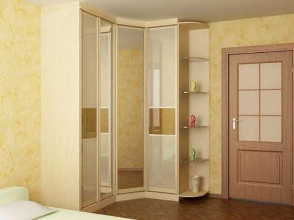 фото Угловой шкаф-купе в спальню, пример 3