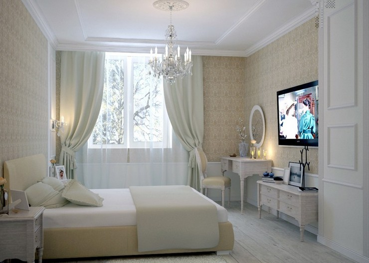 Фото ковролина в маленькой спальне