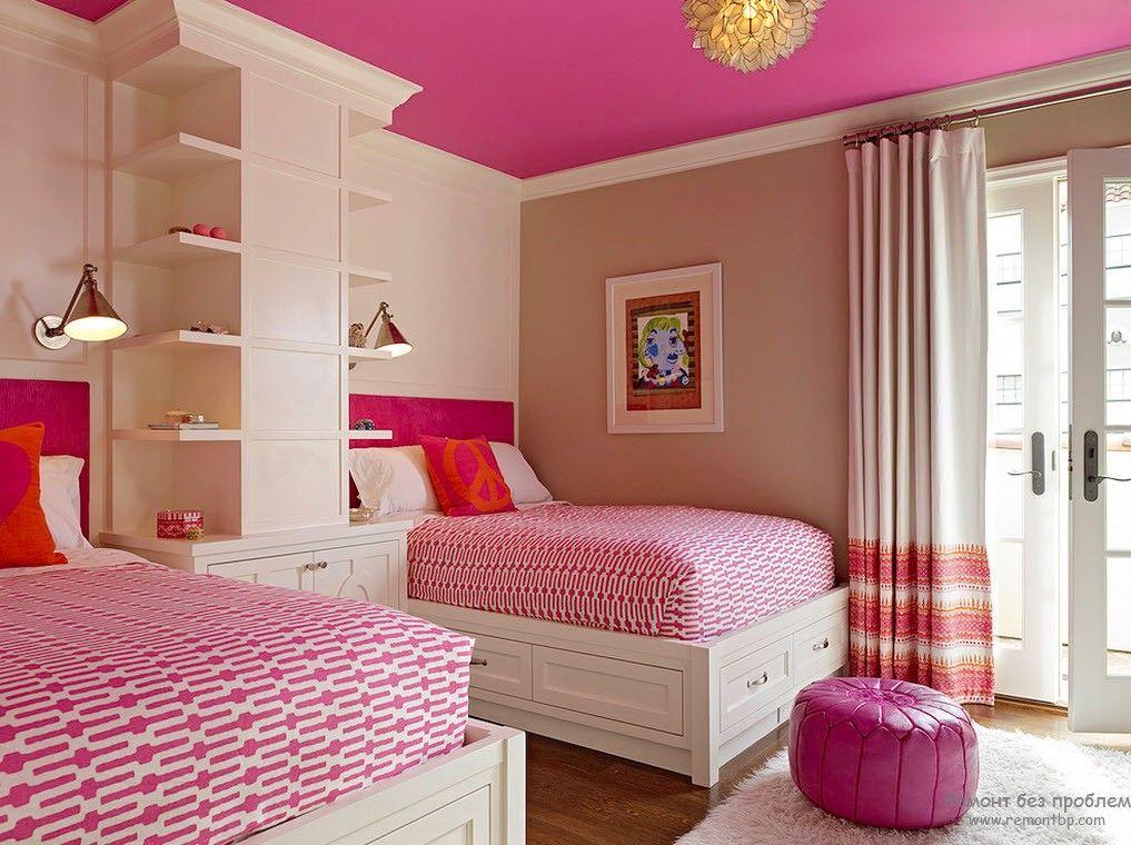 Фото Спальня для двух девочек
