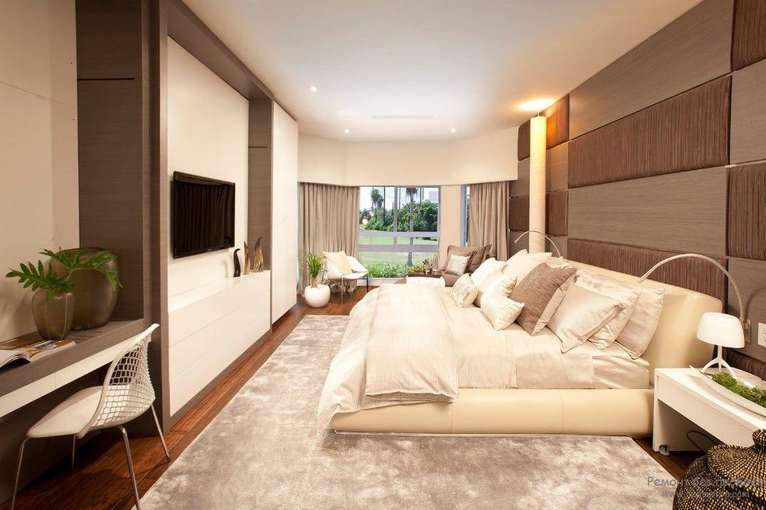 Фото Идея подбора мебели в маленькую спальню