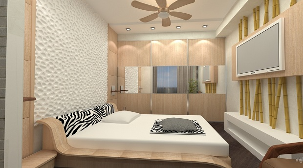 Фото Дизайн 2016 для малогабаритной спальни