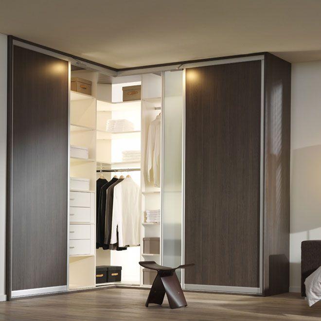Фото Угловой шкаф в спальню, пример 4