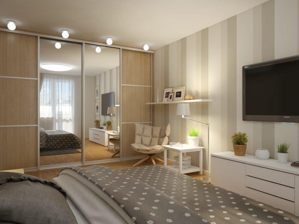 фото Пример реального дизайна спальни 12 кв.м