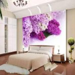 fabulous-bedroom-wall-murals-ideas-for-girl-bedroom-beautiful-flower-purple-interior-themes