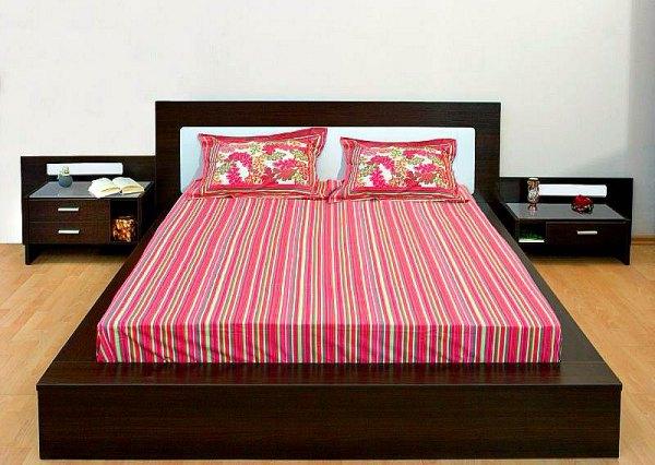 фото Кровать-подиум в интерьере