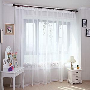 Фото Тюль для спальни - живой пример 2