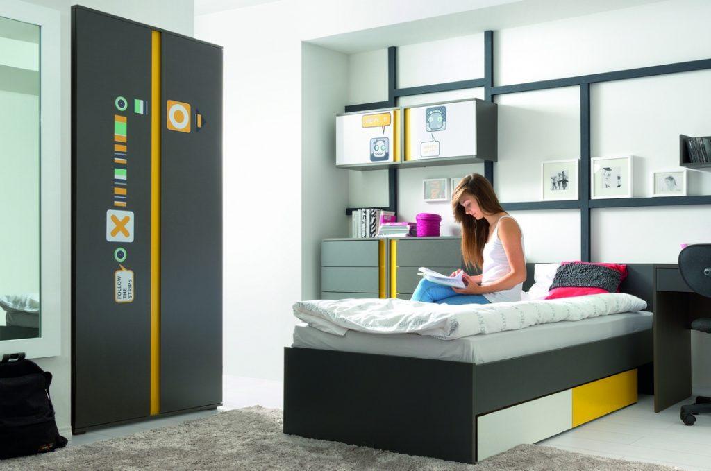 фото примера спального места в интерьере