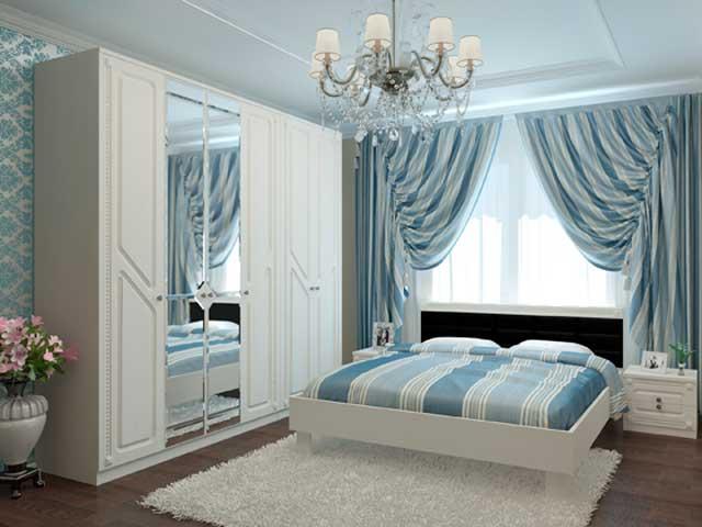 фото Используйте низкие кровати в маленьких спальнях