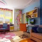 dizajn-detskoj-dlya-2-devochek-foto