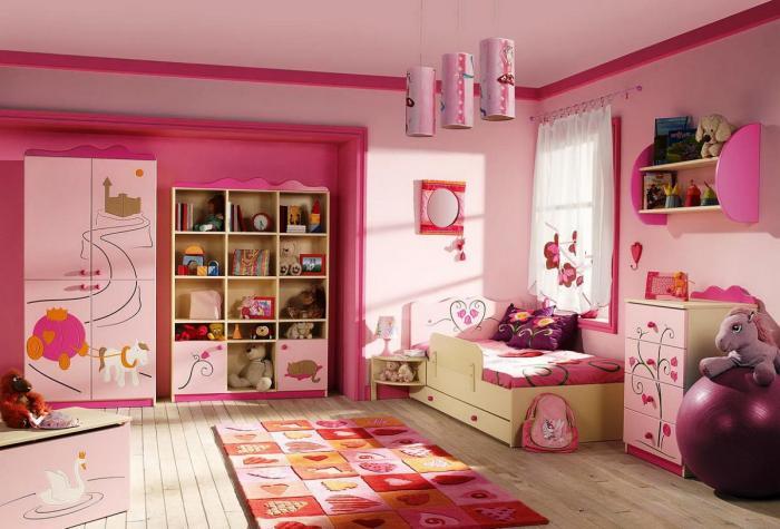 фото Идея оформления большой спальни