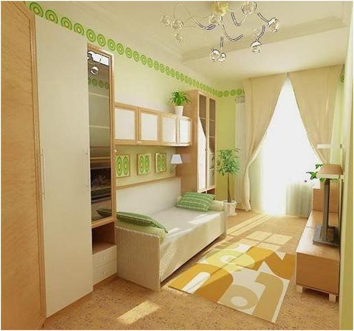 Интерьер небольшой комнаты фото