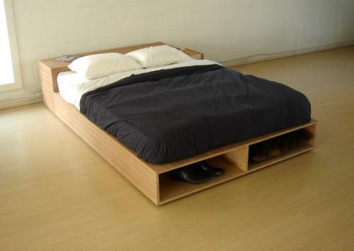 фото Готовая кровать подиум