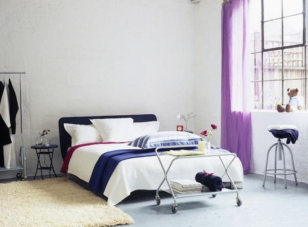 фото Спальня в скандинавском стиле: минимализм и свет