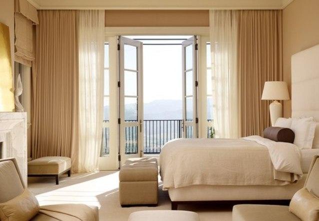 Фото Тюль для окон спальни