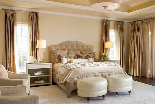 фото Спальня в классическом стиле, пример 8