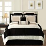 overstock-create-the-ultimate-contemporary-look-in-your-master-or-guest-bedroom-with-this-queen-size-bed-in-a-bag-set-from-gramercy-this-modern-black-and-tan-12-piece-bed-set-includes-a-comforter-two