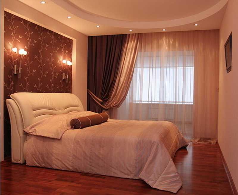 фото современные шторы для спальни