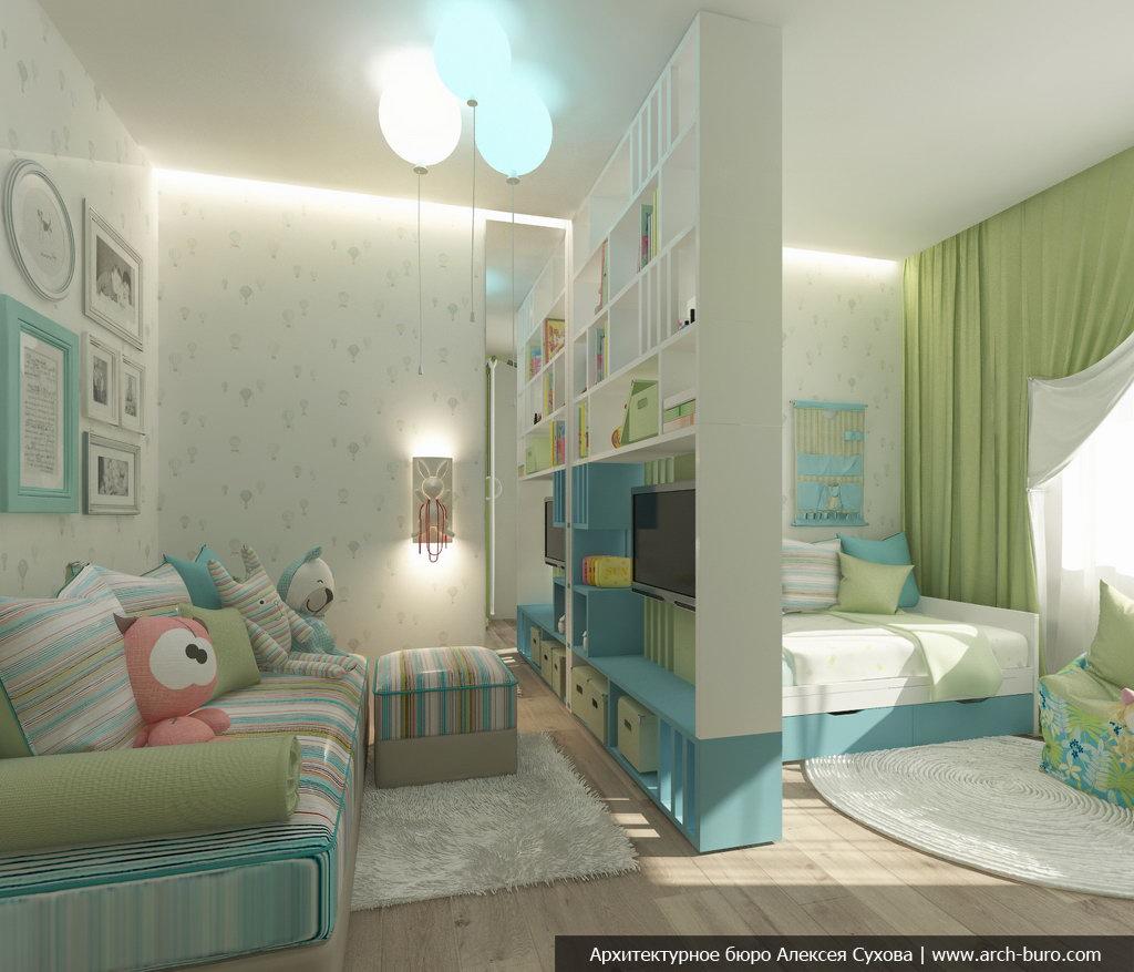 фото Разделение комнаты наспальню и гостиную