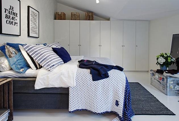 фото Шкафы в интерьере спальни