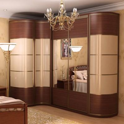 Фото Угловой шкаф в спальню, пример 5