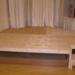 Кровать подиум своими руками: 45 идей и советов