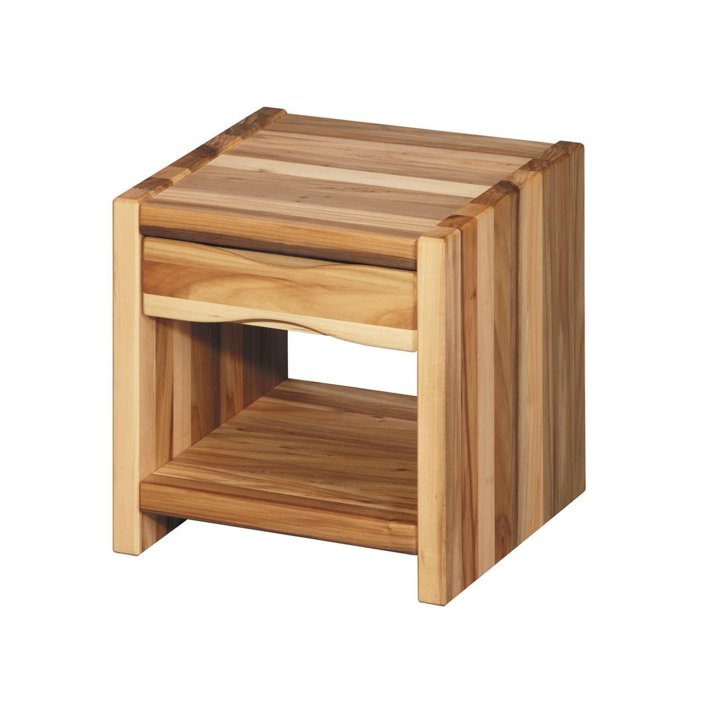 деревянный прикроватный столик