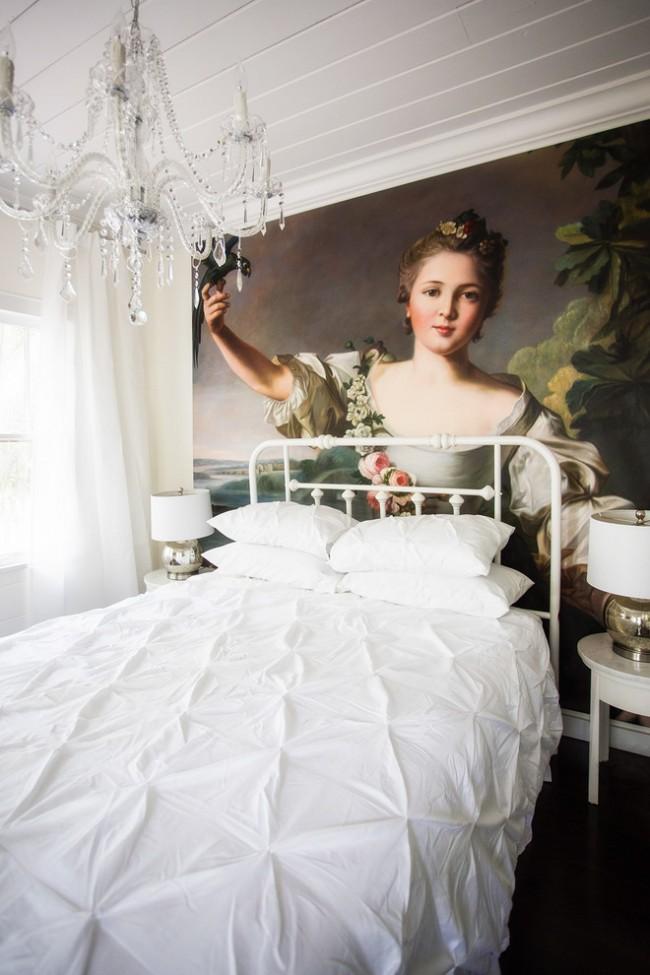 фотообои над кроватью - картина