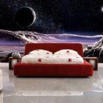 фотообои над кроватью вселенная