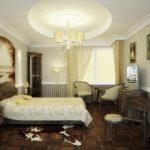 спальня в стиле антик